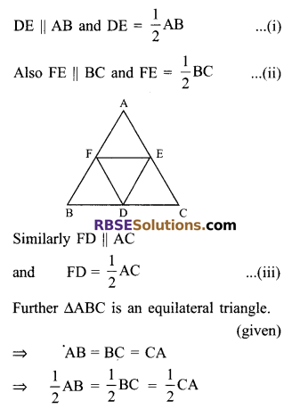 RBSE Solutions for Class 9 Maths Chapter 9 Quadrilaterals Ex 9.2 5