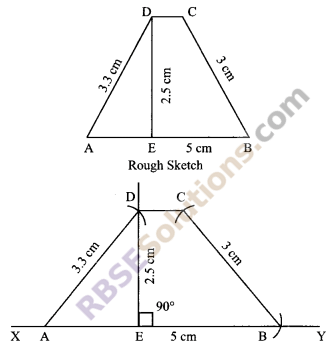 RBSE Solutions for Class 9 Maths Chapter 9 Quadrilaterals Miscellaneous Exercise 19