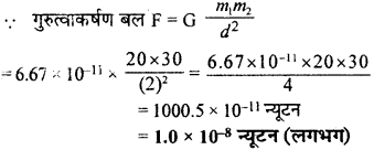 RBSE Solutions for Class 9 Science Chapter 10 गुरुत्वाकर्षण 24