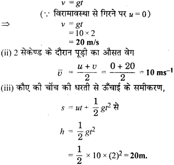 RBSE Solutions for Class 9 Science Chapter 10 गुरुत्वाकर्षण 4