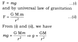 RBSE Solutions for Class 9 Science Chapter 10 Gravitation 6