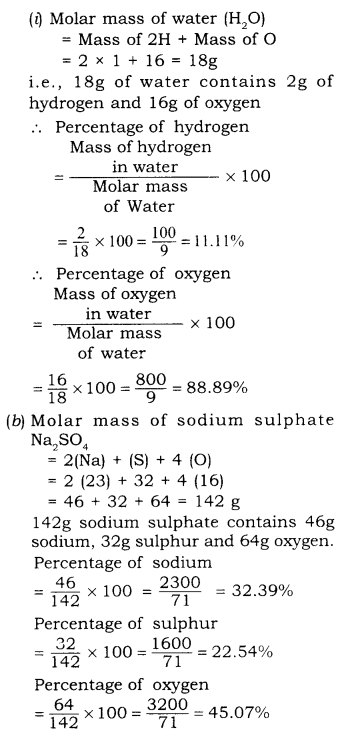 RBSE Solutions for Class 9 Science Chapter 3 Atomic Structure 10