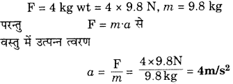 RBSE Solutions for Class 9 Science Chapter 9 बल और गति 47